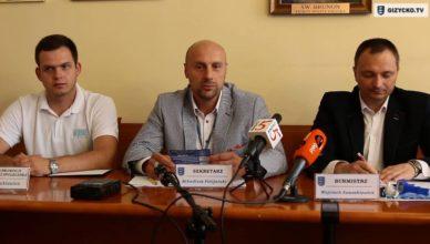 Konferencja Prasowa Burmistrza | 30.08.2016 r.