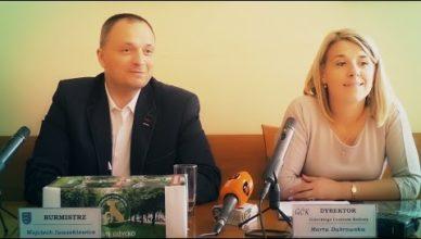 Konferencja prasowa burmistrza Giżycka | 27 września 2016 r.